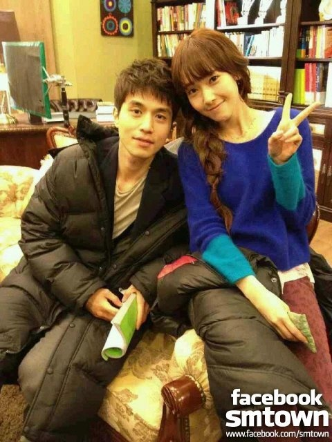 """SNSD Jessica's Photo with """"Wild Romance"""" Co-Star Lee Dong Wook + First Teaser Still"""
