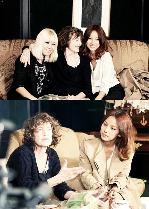 Lee Hyori and Jane Birkin's Friendly Photo Gains Attention