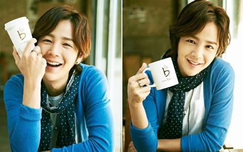 Jang Geun Suk and Han Ye Seul Models for Caffé Bene