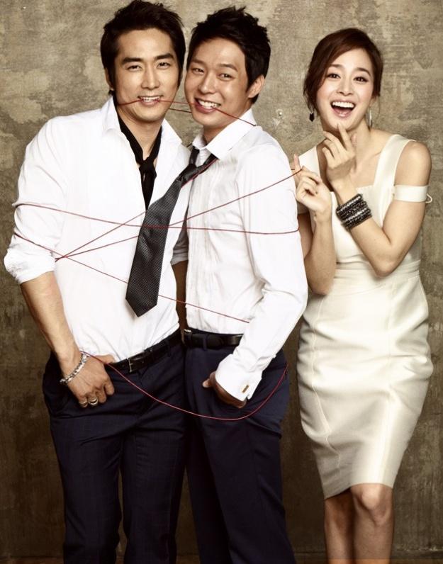 Song Seung Heon, Kim Tae Hee and JYJ's Yoochun Team Up for an Italian Restaurant CF