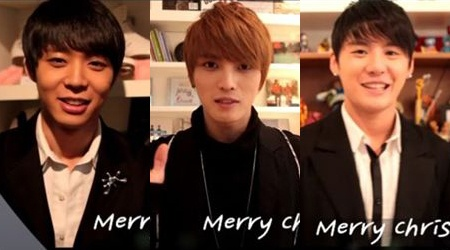 JYJ Posts Merry Christmas Videos on New Website