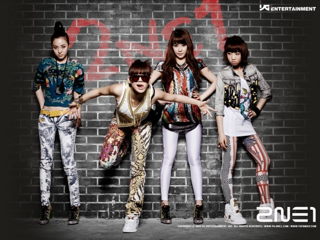 2NE1 Is Up for MTV Iggy's Best New Band in the World 2011