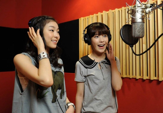 """IU and Kim Yuna to Release Duet Track for SBS """"Kiss and Cry"""""""