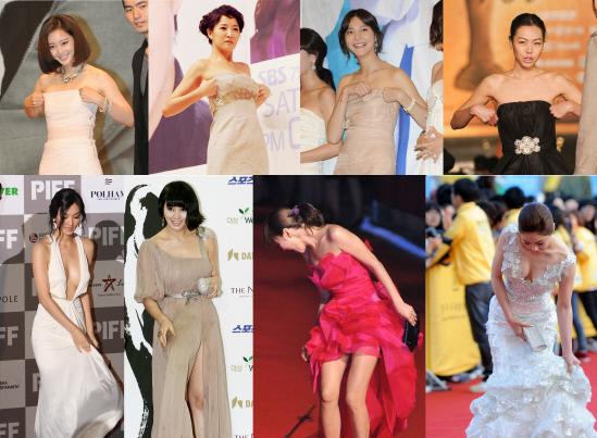 Ugh! Female Stars' Dress Problems