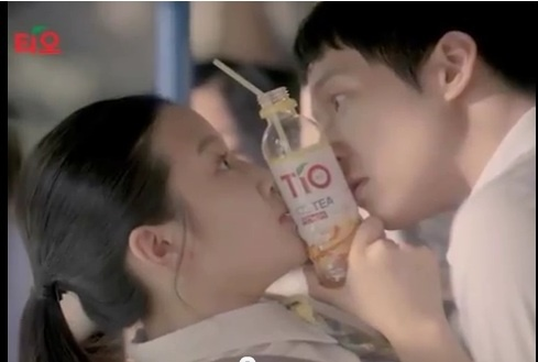 JYJ Yoochun Almost Kisses High School Student in New TV Commercial