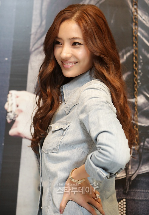 Han Chae Young's Perfect Body at True Religion Store Opening