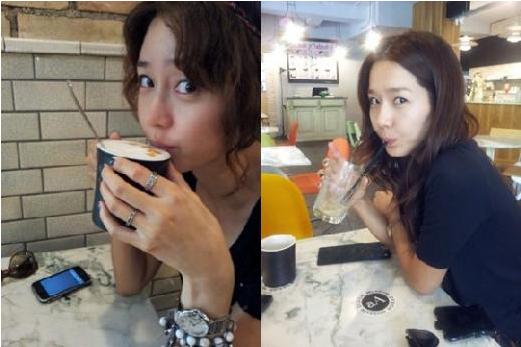 "Lee Jin & Sung Yuri, ""Fairies at Tea Time"""