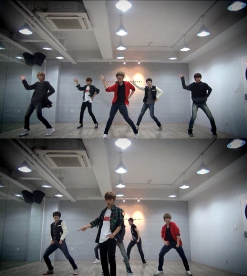 "Boyfriend Releases Dance Practice Video for ""Don't Touch My Girl"""