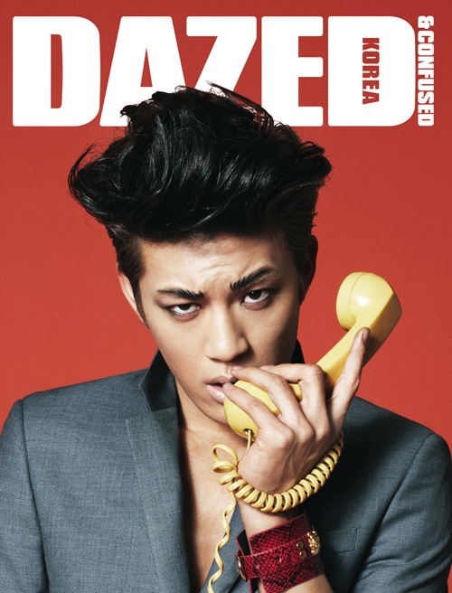 Se7en and Girls' Generation Jessica Look Funky for Dazed & Confused