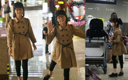 Child Star Kim Sae Ron's Airport Fashion