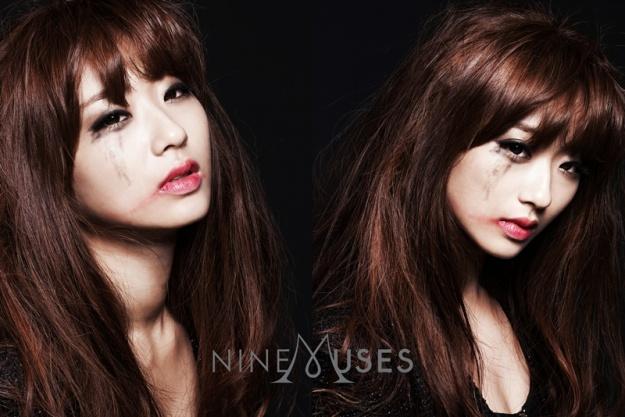 Nine Muses New Member Kyung Ri in Tears?