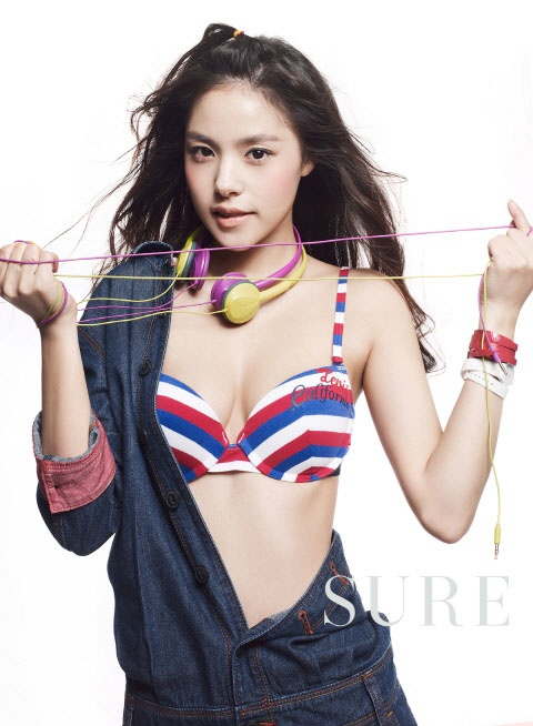 "Min Hyo Rin Shows Her Sexy Charms on ""Bazaar"" Photo Shoot"