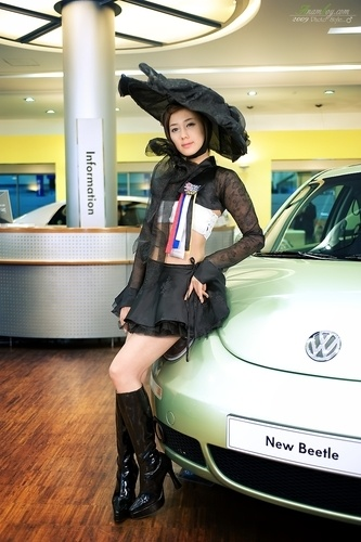 Seoul Motor Show 2009 (Kim Ha Yul)