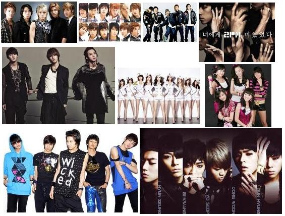 "Nine K-Pop Groups Voted at the ""Best Fan Forever"" Poll"