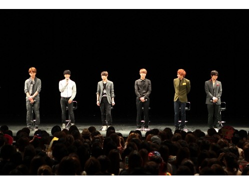 """BEAST Holds """"Promise Event"""" For 5,000 Fans in Japan"""