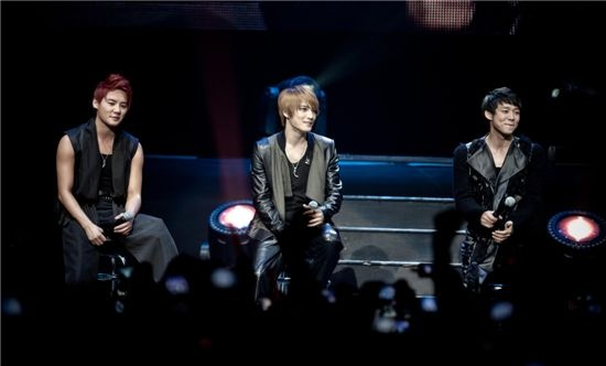 JYJ Continues Tour in Las Vegas