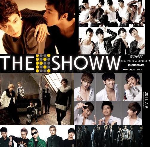 "Big Bang, Super Junior, DBSK, 2PM, MBLAQ and ZE:A for ""The K Showw""!"