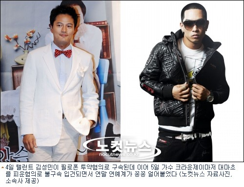 Kim Sung Min and Crown J Charged With Drug Possession?