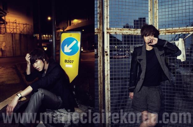 Marie Claire Korea [DBSK] (Yunho)