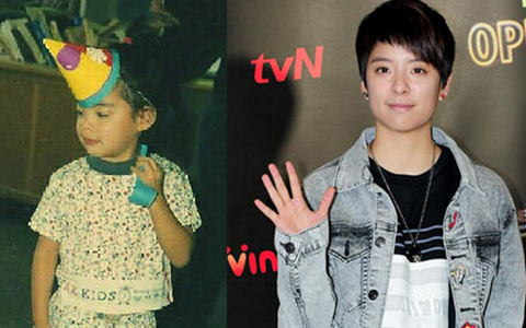 f(x) Amber Shares Baby Photos of Herself and Krystal