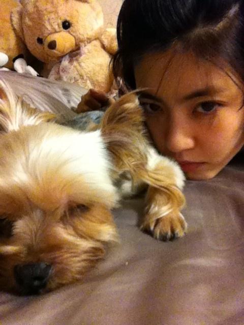 Lee Yoon Ji Reveals Cute Selca With Her Dog