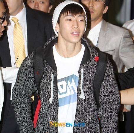Jaebum Back In Korea