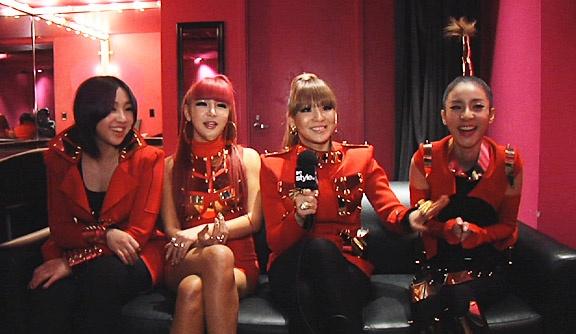 2NE1 and Jeremy Scott Interviewed by MTV Style
