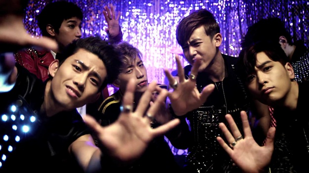 2PM Hands Up Asia Tour in Singapore