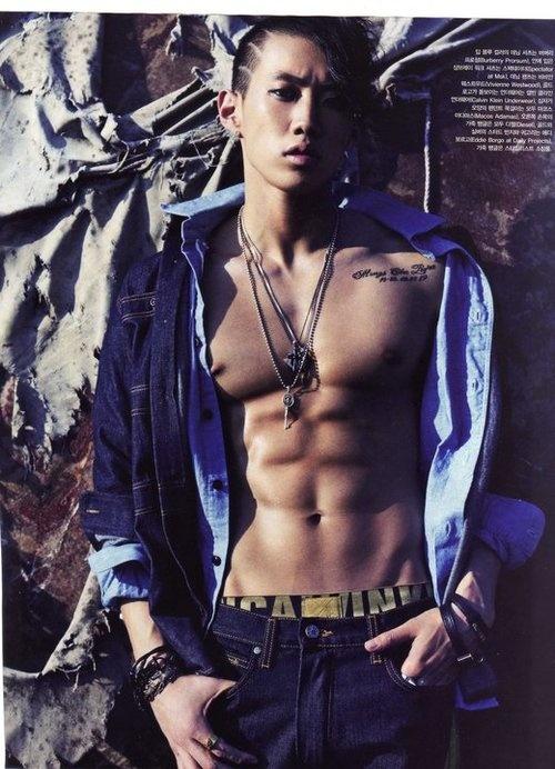 Jay Park in Vogue Magazine