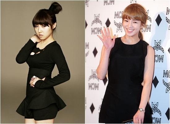 Miss A's Min Embarrasses SNSD's Hyoyeon?!