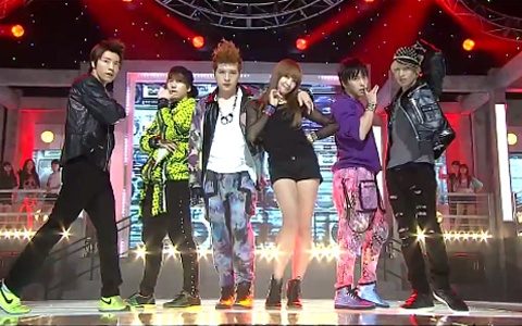 SBS Inkigayo 08.21.11 : Summer Dance Festival