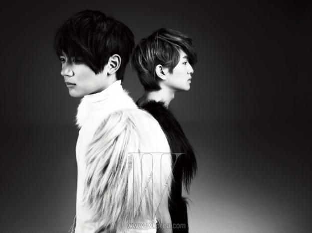SHINee's Onew and Minho reveal Gentle Side for W Korea!
