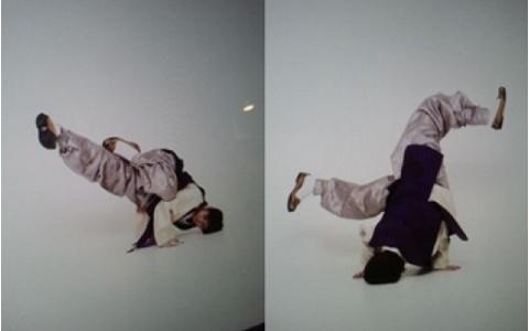 Yo Seob Breakdances in His Hanbok