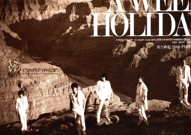 5th Photobook A Week Holiday [TVXQ]