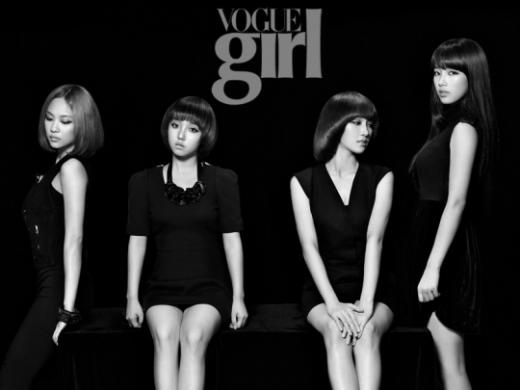 miss A Transforms Into Femme Fatales for Vogue
