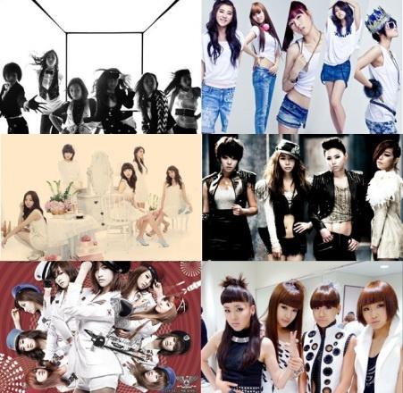 Female Idols Listed In Age Order