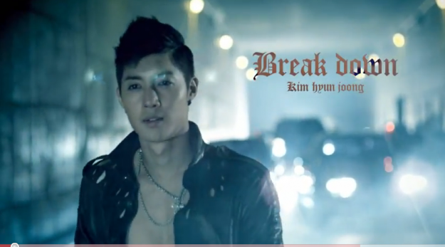 "Kim Hyun Joong Releases Video for ""Break Down"" with Double K"