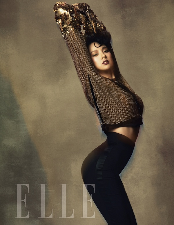Lee Hyori Displays Tom Ford's Fall/Winter Collection