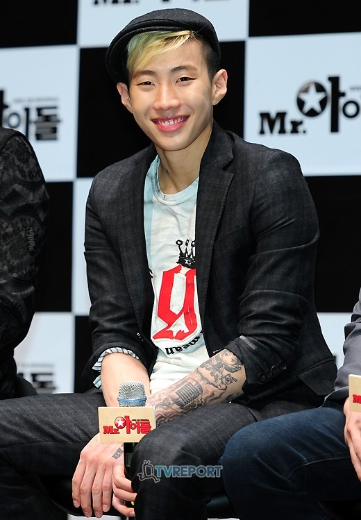 "Jay Park Comments on Filming for ""Mr. Idol"""