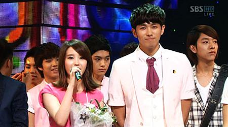 SBS Inkigayo 06.27.10 Performances