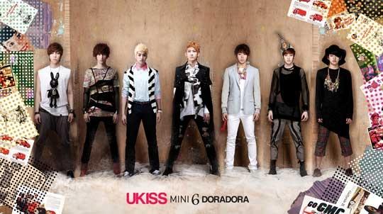 """U-Kiss Reveals Teaser Photo for """"DORA DORA"""""""