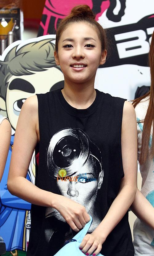 Sandara Park Promotes MBLAQ's New Album