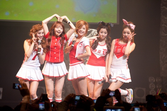 Girl's Day Attracts 1,200 Fans for Japanese Debut Live Concert