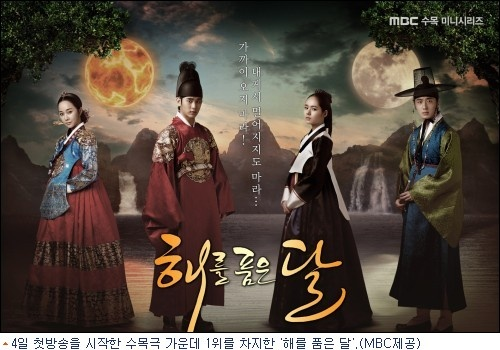 The Moon that Embraces the Sun OST by Lyn Tops Billboard K-Pop Chart