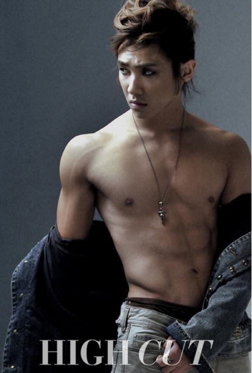 MBLAQ Lee Joon in Couple Photoshoot for Kiss Republic Underwear