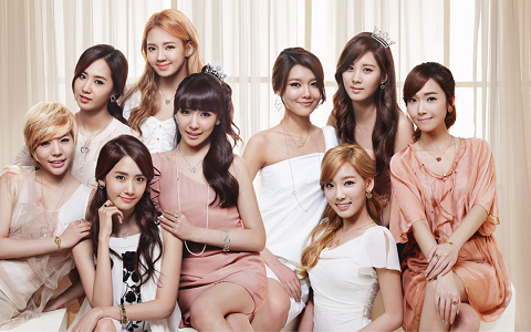 """Photos and Performance Clip of SNSD for """"The Late Show with David Letterman"""""""
