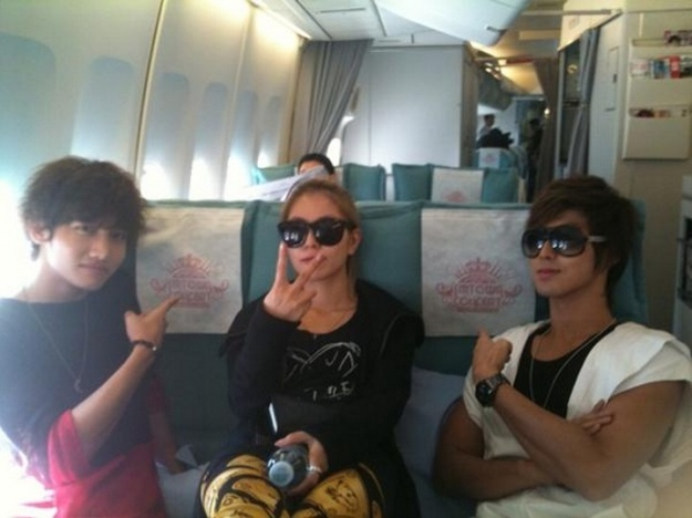 SM TOWN Artists Fly For LA Concert