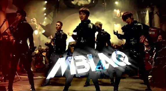 """MBLAQ Performs Inkigayo Comeback Stages """"Scribble"""" and """"It's War"""""""