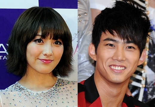 2PM's Taecyeon and Kara's Kang Ji Young Welcome Nell's Comeback