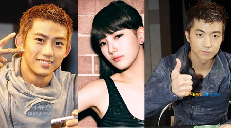 """Taecyeon, Wooyoung, Suzy for KBS Drama """"Dream High"""""""